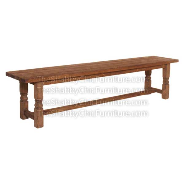 Bohemy Long Bench Shabby Chic Furniture Furniture