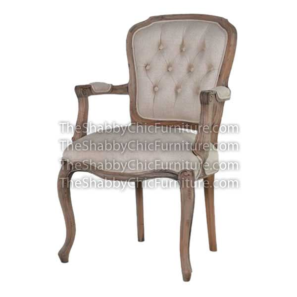 Bohemy Curved Leg Arm Chair
