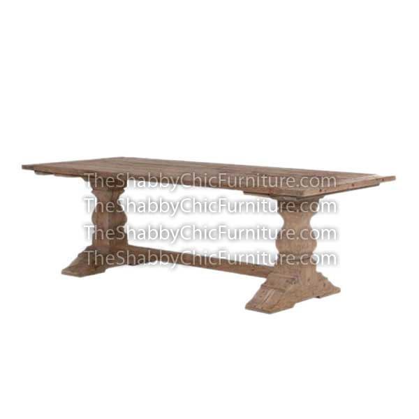 Bohemy Rectangular Slat Dining Table