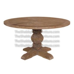 Bohemy Single Pedestal Dining Table