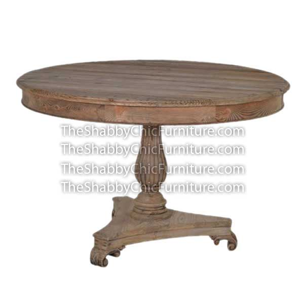 Bohemy Triangle Pedestal Dining Table