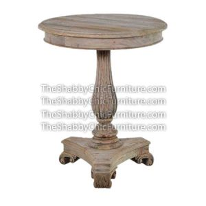 Bohemy Triangle Pedestal Occasional Table
