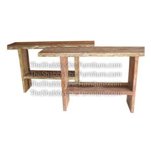 Manhattan Console Table with Slats Legs