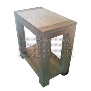 Manhattan Blocked Console Table