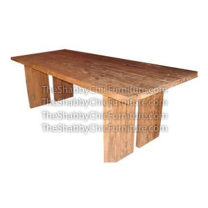 Manhattan 2 Straight Legs Dining Table