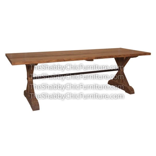 Vermont Dining Table With Iron Teak Furniture Exporter : ADT DT 010 1 from www.theshabbychicfurniture.com size 600 x 600 jpeg 26kB