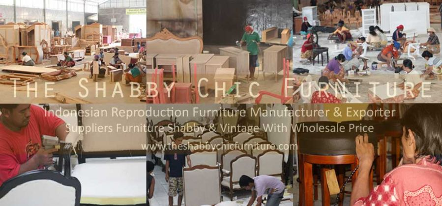 Process of Shabby Chic Furniture Indonesia