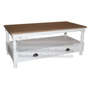 York Coffee Table 2 Drawer