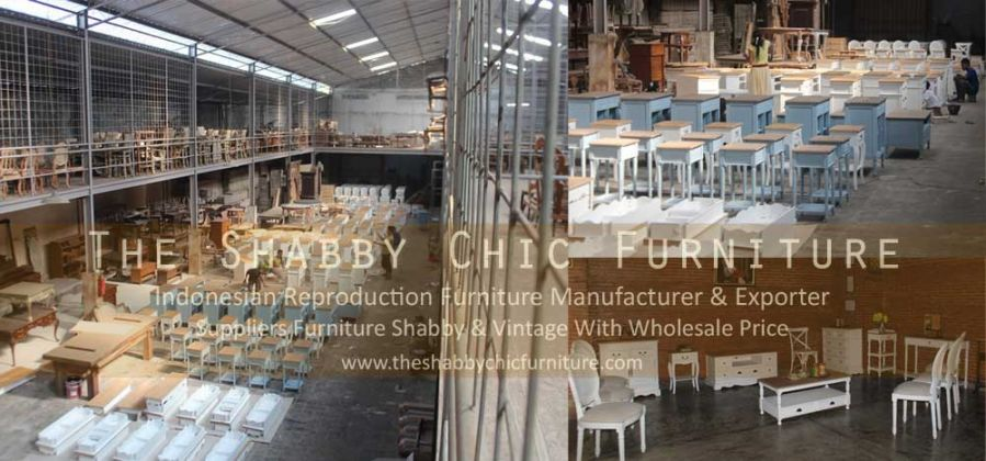 Warehouse Furniture From Jepara Indonesia With French Shabby Style