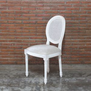 Gordes Ballon Back Chair Shabby Chic