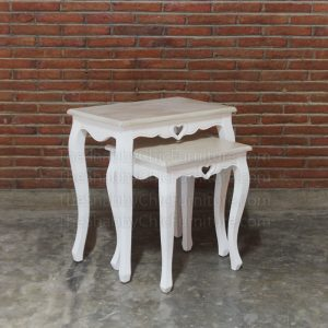 Liebe Nest Of Table Large Shabby Chic