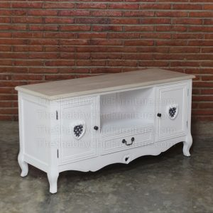 Liebe TV Cabinet Shabby Chic