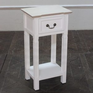 Louvre Bedside Table Shabby Chic