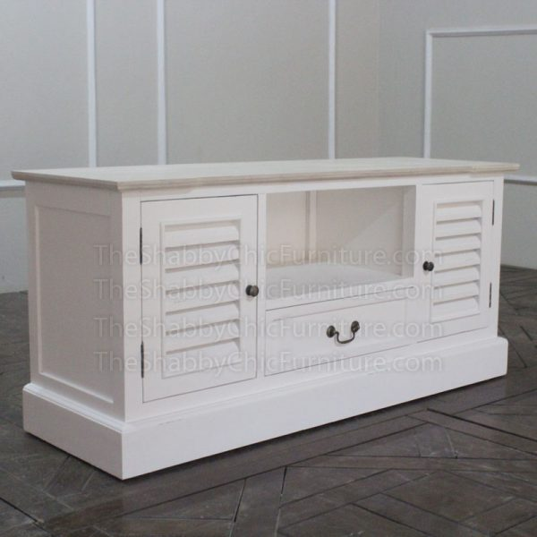 Louvre TV Cabinet Shabby Chic